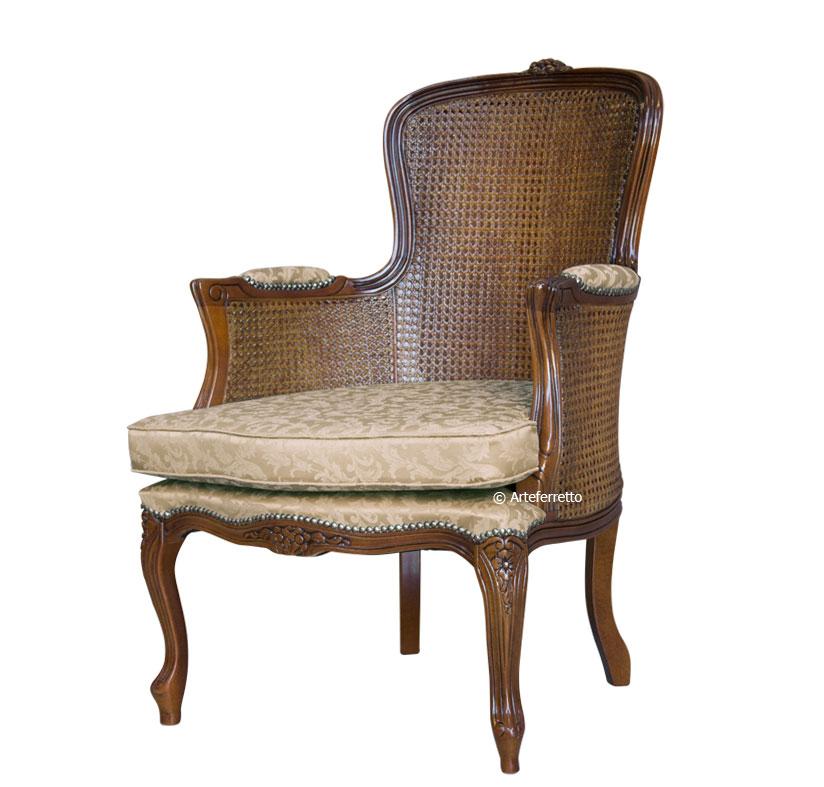 sessel mit sitzkissen und stroh frank m bel. Black Bedroom Furniture Sets. Home Design Ideas