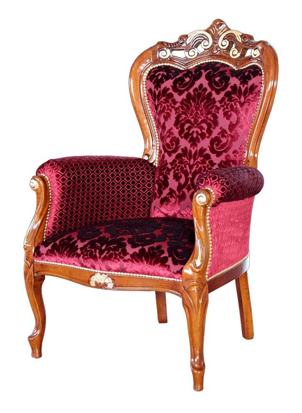 sessel mit polsterung classic gold frank m bel. Black Bedroom Furniture Sets. Home Design Ideas