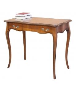 Schreibtisch, Schreibtisch Holzplatte