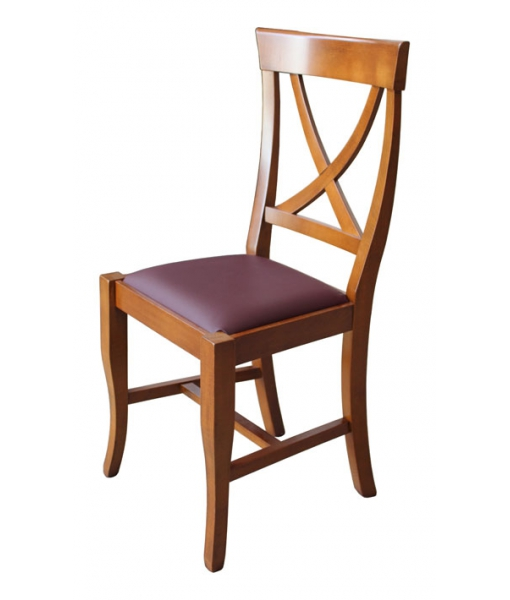 Stuhl mit Sitzpolster, Klassischer Stuhl