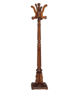 Holzgarderobe, Stehgarderobe, Stehgarderobe aus Holz