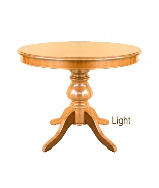 Runder Tisch 100 cm Ausziehbar 446-100