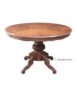 Runder Tisch ausziehbar, Runder Tisch