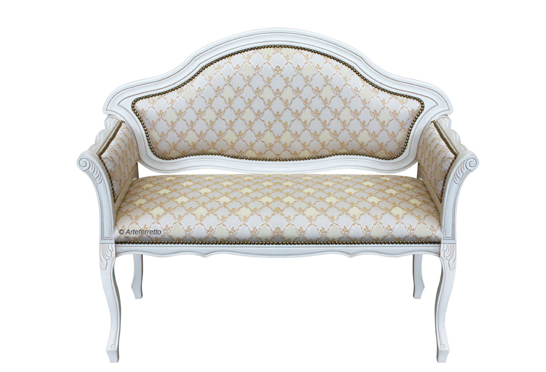 Kleines Sofa mit Polsterung - Frank Möbel