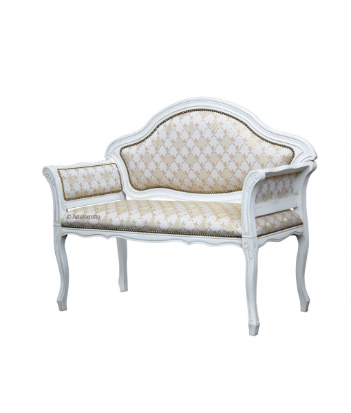 kleines sofa mit polsterung frank m bel. Black Bedroom Furniture Sets. Home Design Ideas