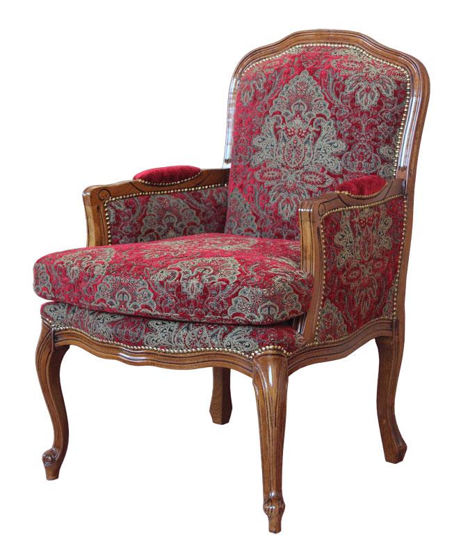 klassischer sessel mit kissen damasco plus frank m bel. Black Bedroom Furniture Sets. Home Design Ideas