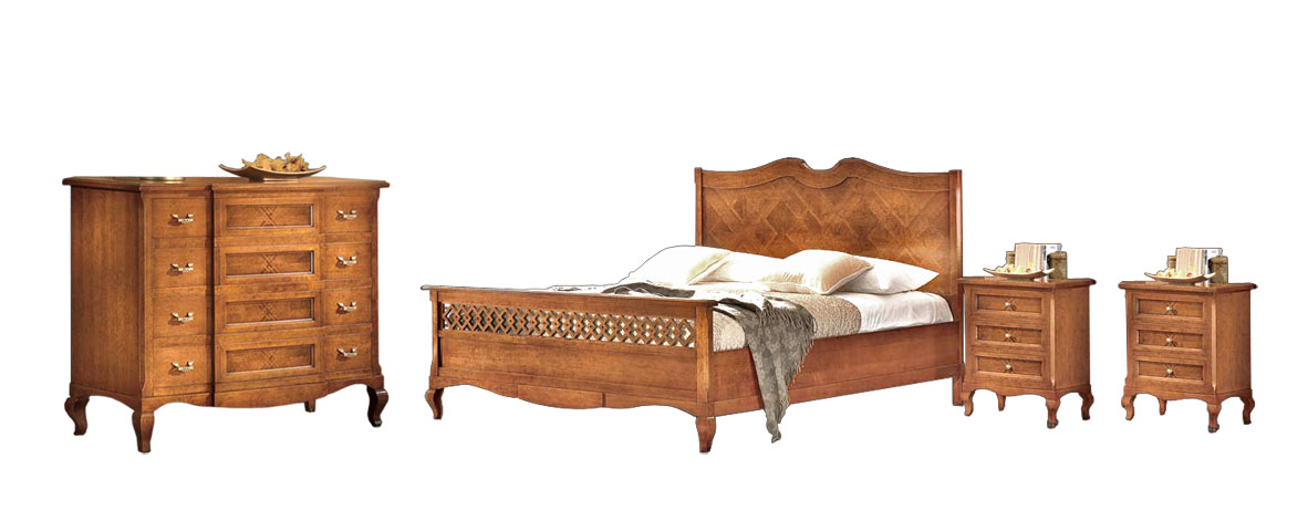 Bett Kommode Nachttisch Schlafzimmer Komplett Made In Italy Ebay