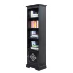 Schwarzes Bücherregal, Bücherregal schwarz