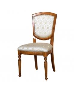 Stuhl weiß mit Polsterung Masterstyl