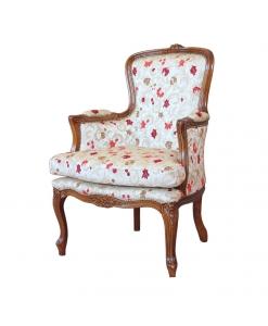 Sessel mit Kissen, Sessel