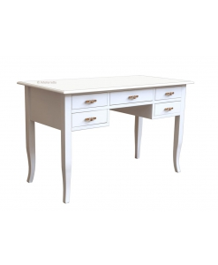 Schreibtisch weiß, Schreibtisch mit Schbladen