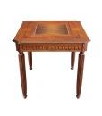 Spieltisch mit Intarsie