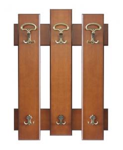 Garderobepaneel aus Holz