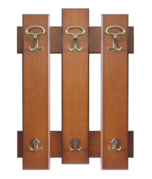 Garderobepaneel aus Holz, Art.-Num.: Ring3