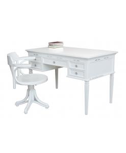 Schreibtisch mit Stuhl, Schreibtisch