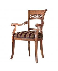 Armlehnstuhl, Stuhlt mit Armlehnen