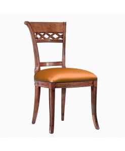Holzstuhl mit Polsterung, Stuhl