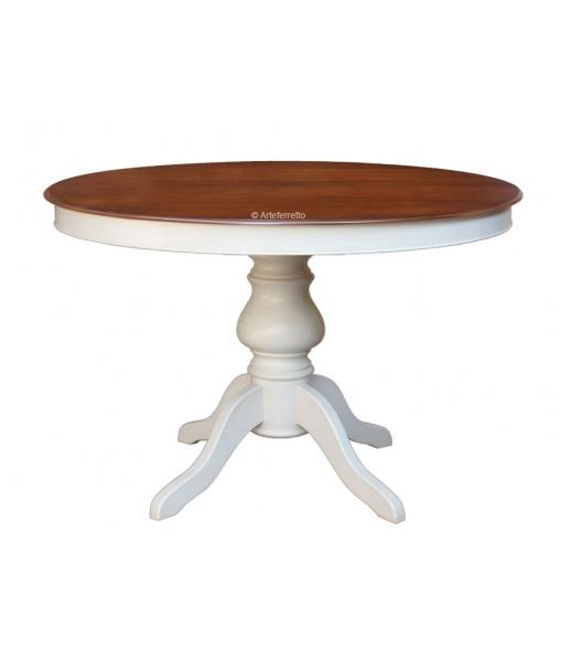 Tisch rund ausziehbar 2 Farben 446-BIC