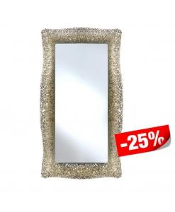Spiegel mit Glasrahmen