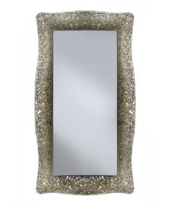 Spiegel mit Glasrahmen, Spiegel