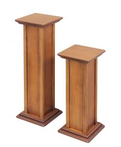 Vasenständer, Vasenständer aus Holz