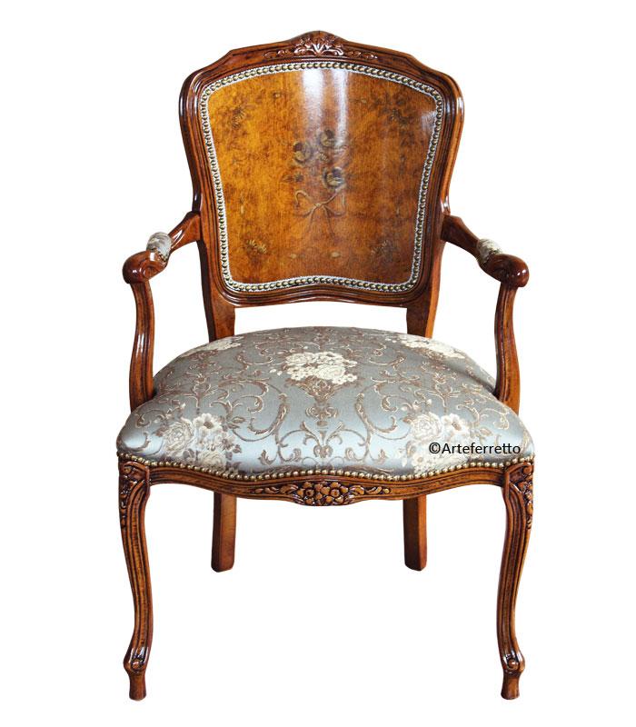 sessel parisienne mit muster frank m bel. Black Bedroom Furniture Sets. Home Design Ideas