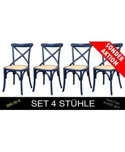 Blau Stühle, Stühle in Blaufarbe