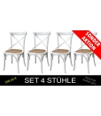 4 Stühle Weiß, Stühle in Weißfarbe