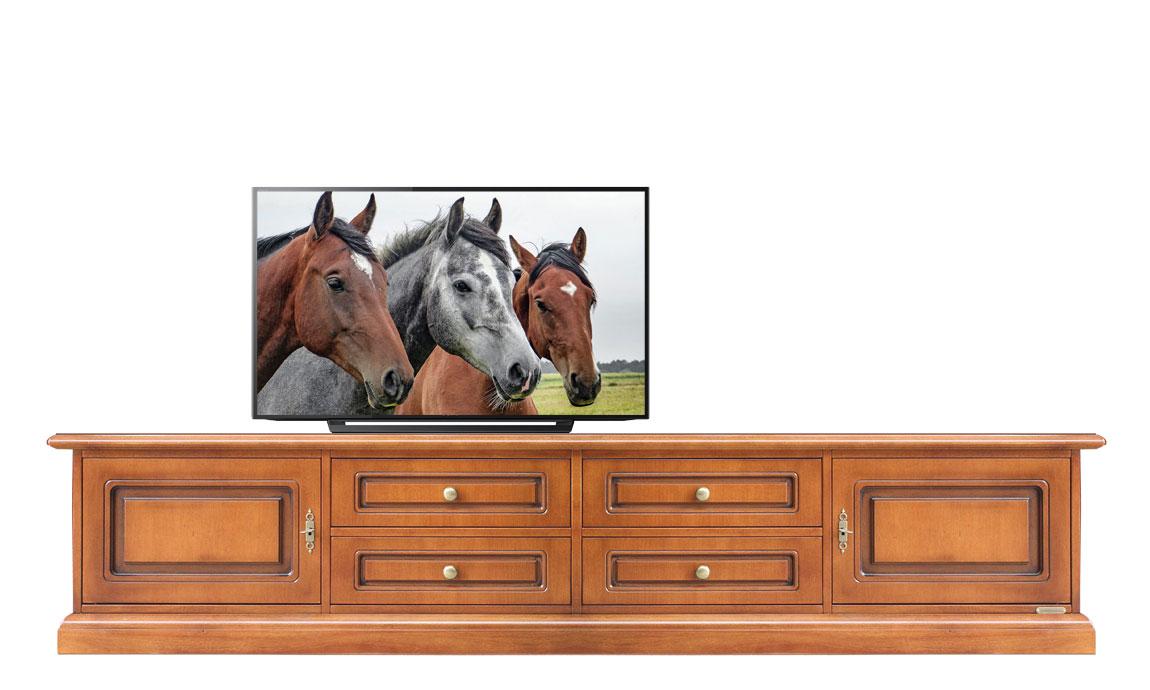 lowboard mit schubladen 2 m frank m bel. Black Bedroom Furniture Sets. Home Design Ideas