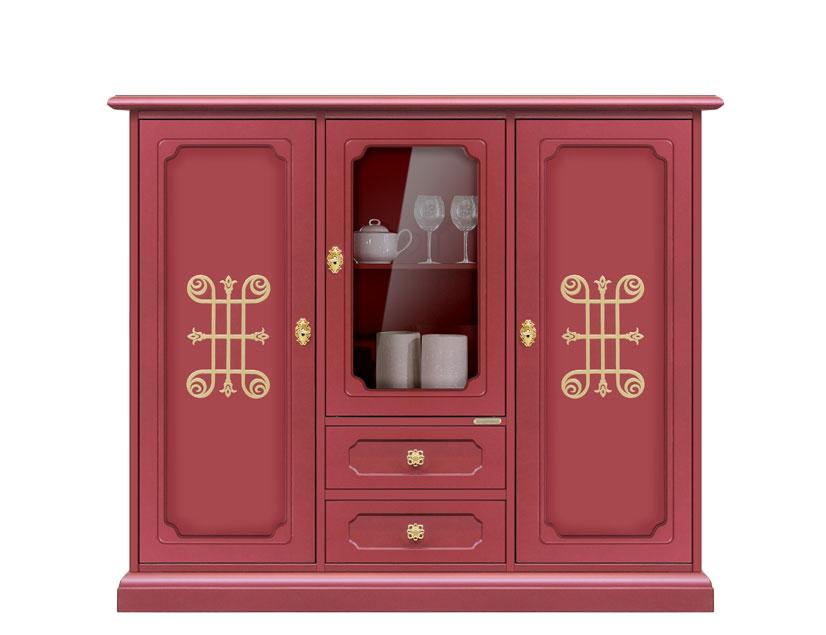 highboard design rubinrot frank m bel. Black Bedroom Furniture Sets. Home Design Ideas
