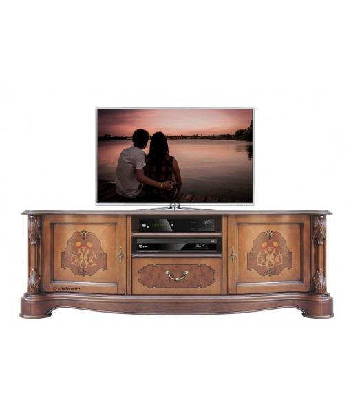 Klassisches TV-Möbel mit Intarsie, Art.-Nr.: A-331