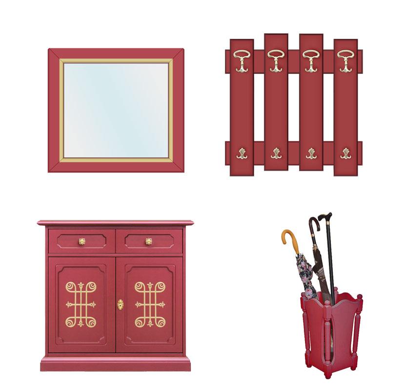 flurm bel set you rubinrot frank m bel. Black Bedroom Furniture Sets. Home Design Ideas