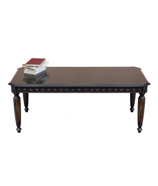 schwarzer couchtisch rechteckig aus holz frank m bel. Black Bedroom Furniture Sets. Home Design Ideas