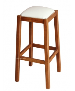 Sitzhocker mit Polsterung Classic