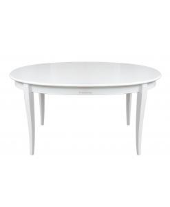 Ovaler Tisch, lackierter Tisch, Esstisch