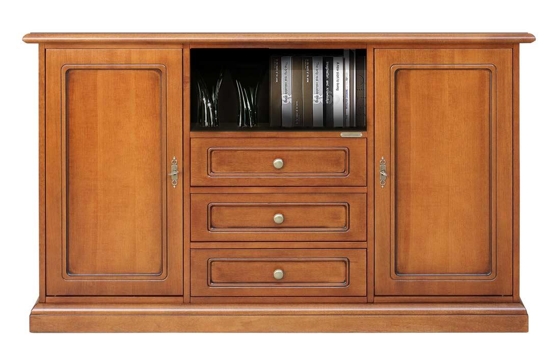 tv anrichte mit t ren und schubladen frank m bel. Black Bedroom Furniture Sets. Home Design Ideas
