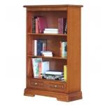 Bücherregal H 130 cm, Bücherregal aus Holz