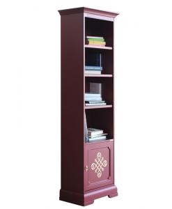 Rubinroter Bücherschrank, Bücherschrank