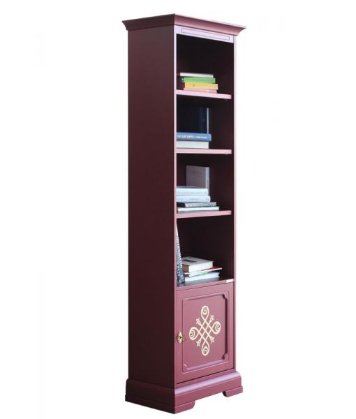 Rubinroter Bücherschrank 4089-RU