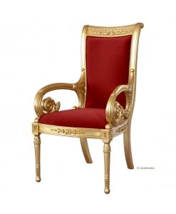 Trohnstuhl, Stuhl made in Italy