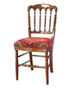 Stuhl mit Stoffsitz, Stuhl