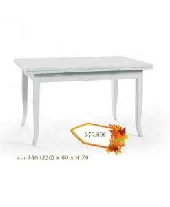 Weißer Tisch, Klassischer Tisch