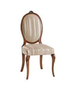 Ovaler Stuhl, klassischer Stuhl