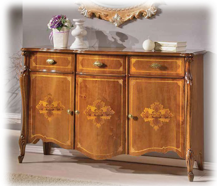 anrichte holz 3 t ren gold style frank m bel. Black Bedroom Furniture Sets. Home Design Ideas
