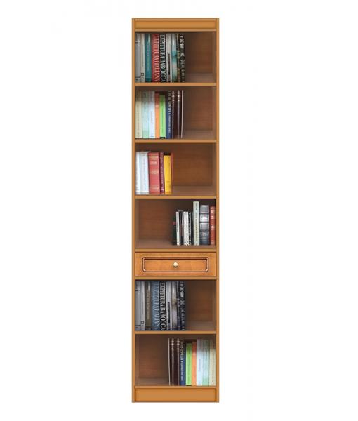 Bücherregal raumsparend, Art.-Nr. EC-COM-M1