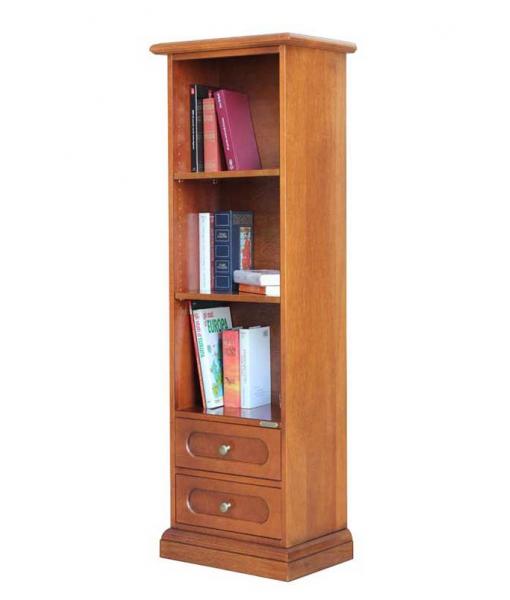 Raumsparendes Buchregal aus Holz, Art.-Nr. 322-TZ