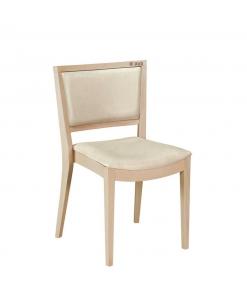 Designer Stuhl aus naturellen Holz