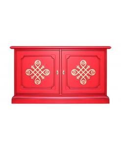 Kleine Anrichte ,TV-Möbel Rot
