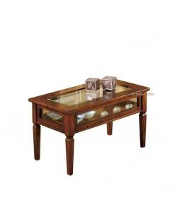 Glastisch, rechteckiger Tisch
