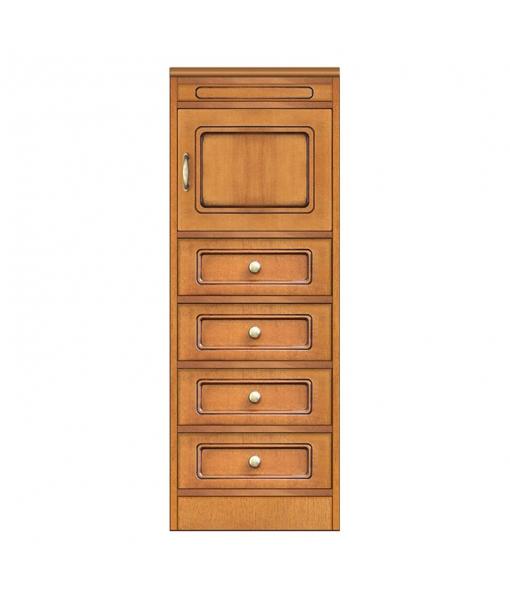 Anrichte 4 Schubladen 1 Tür, Art.-Nr. CN-123